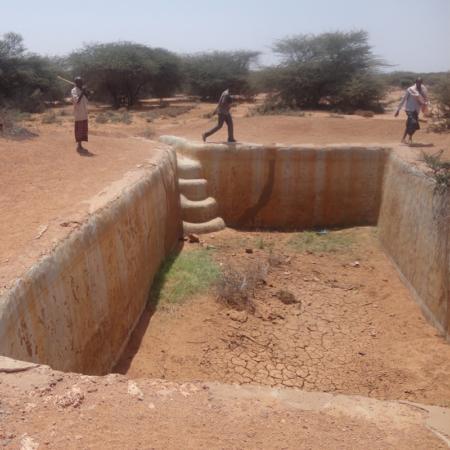 Tearfund Deutschland baut Brunnen, um den Menschen in Dürregebieten in Ostafrika zu helfen