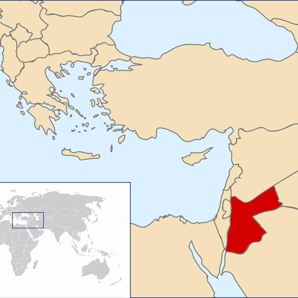 In Jordanien brauchen Flüchtlinge Unterstützung