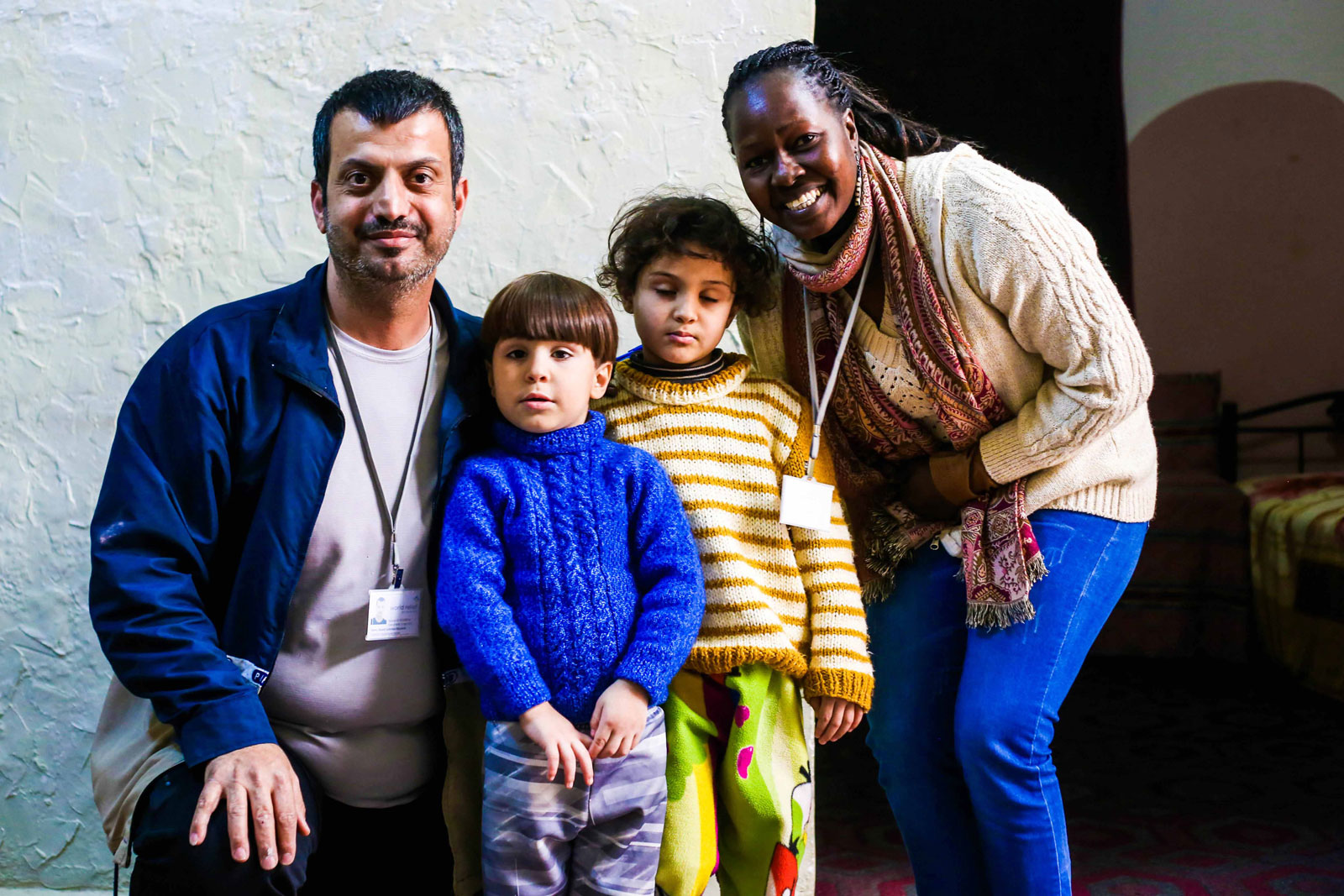 Kindern helfen = Familien helfen, Flüchtlinge in Jordanien
