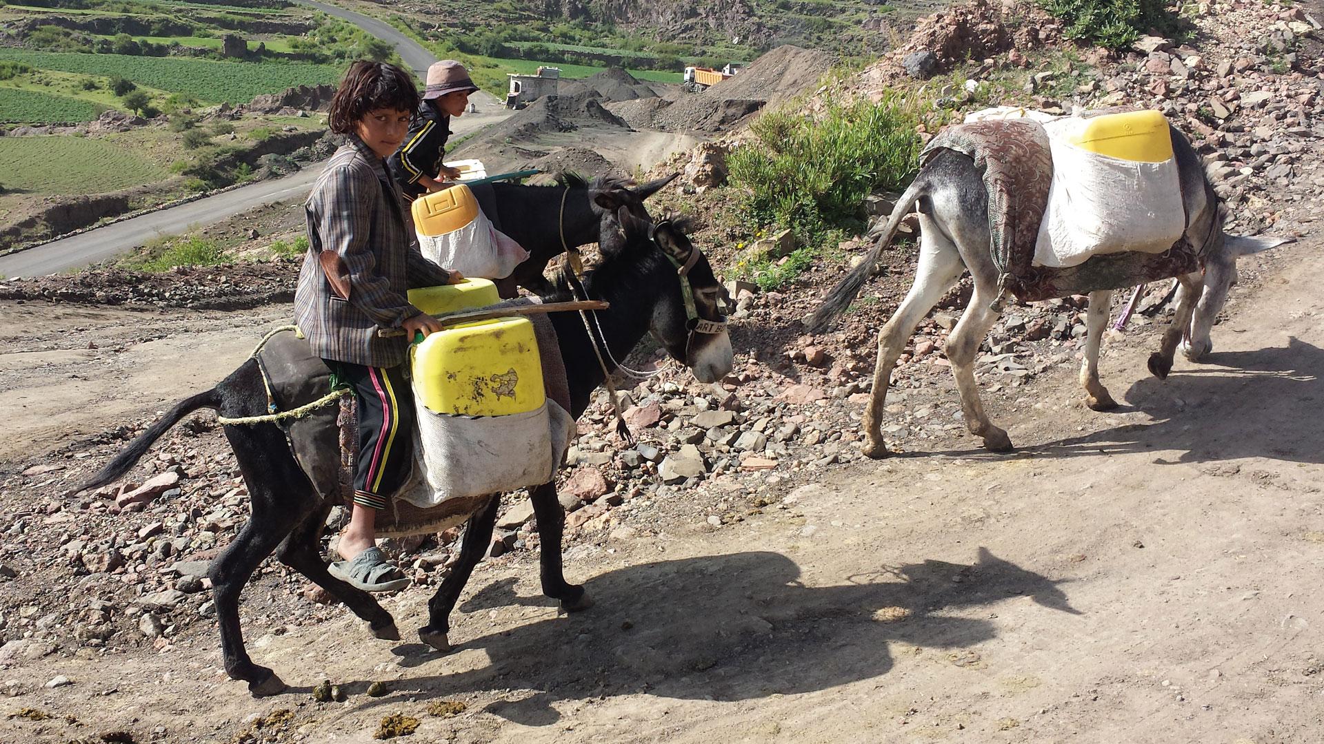 Hilfe im Jemen