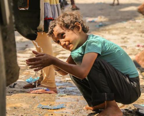 Hilfe im Jemen vor allem für die Kinder