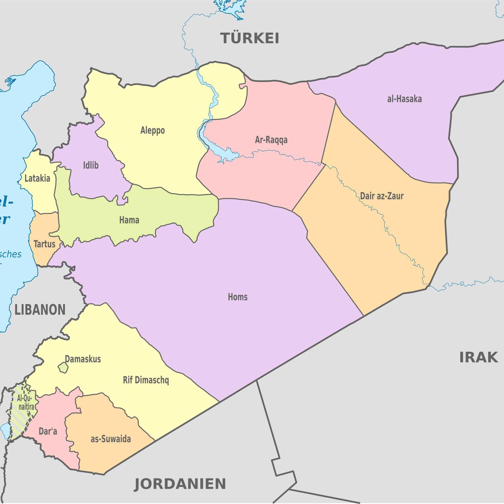 Helfen sie mit beim Wiederaufbau in Syrien und unterstützen Sie uns