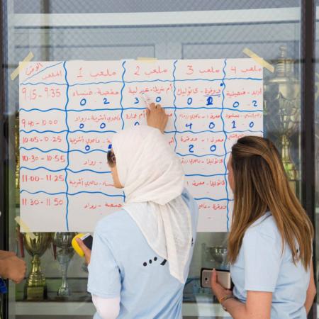 Überblick über die letzten Spielergebnisse: Mädchenfußball in Jordanien