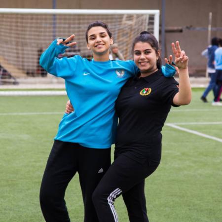 Sport verbindet, schafft Freundschaften und hält fit