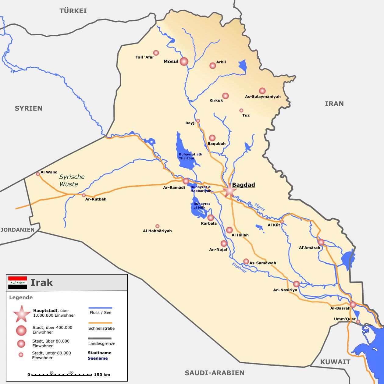 Nachhaltige Entwicklung brauchen syrische Flüchtlinge im Irak