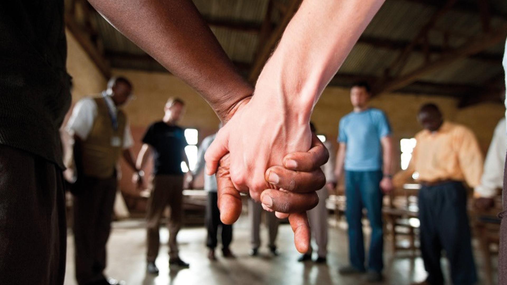 Als Team versuchen wir Versöhnung zu leben und weiterzugeben