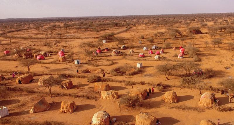 Das Flüchtlingscamp Balimataan in Somaliland