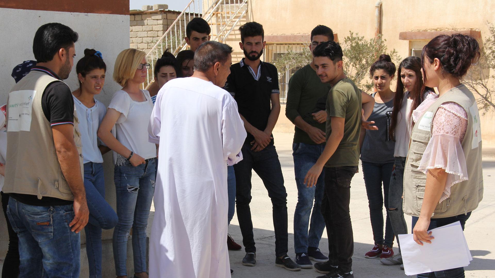 Naher Osten - Hilfsprojekte im Irak