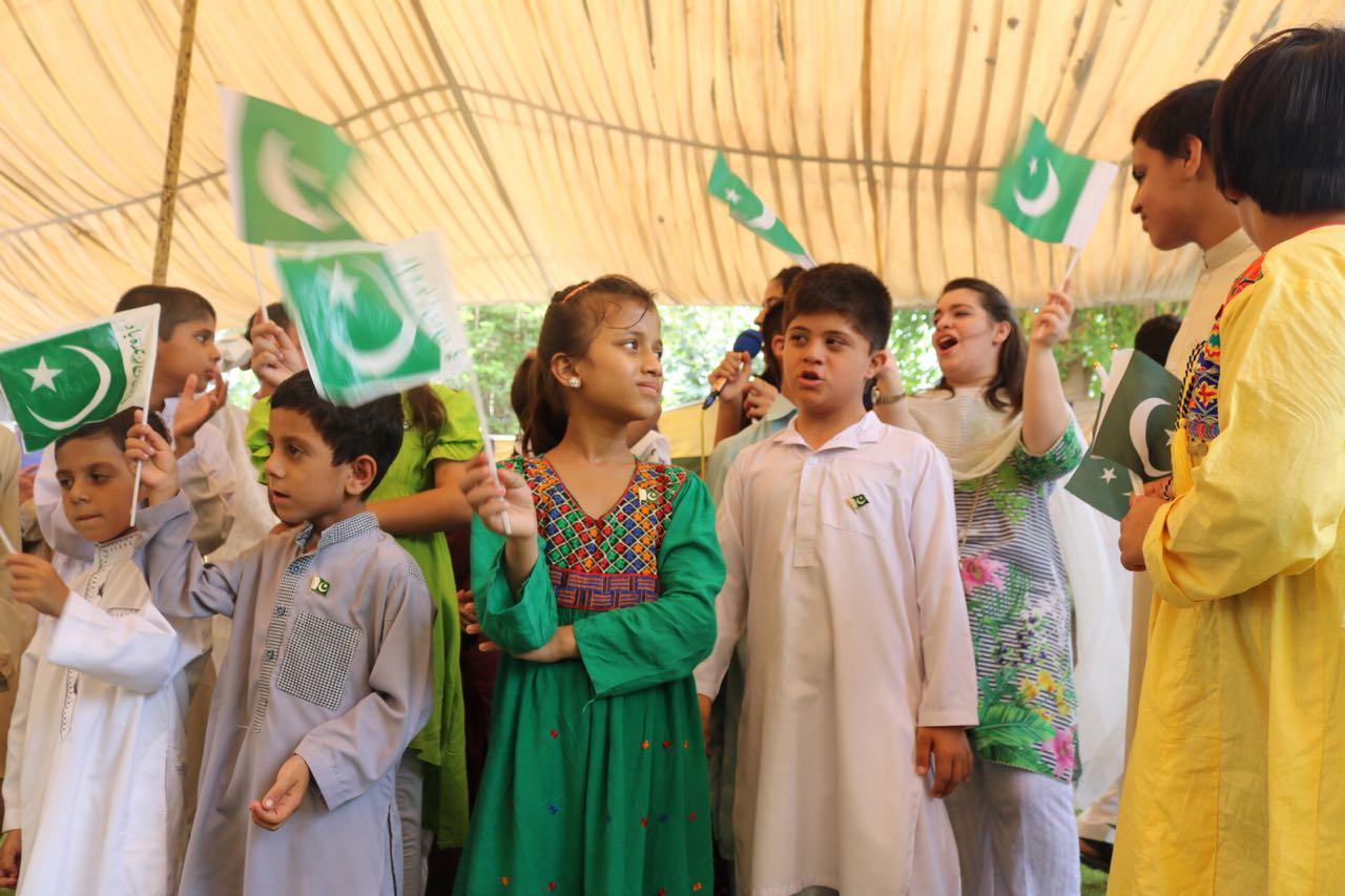 Behinderte Kinder in Pakistan unterstützen