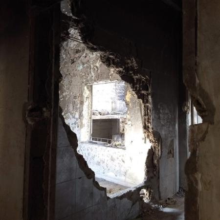 Wiederaufbau und Erneuerung von Häuser in Syrien ist enorm wichtig