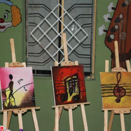 Musik bringt Menschen zusammen: Malworkshop im Iran