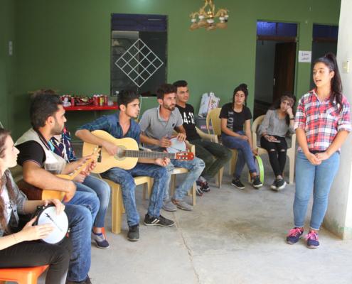 Sinjar - Kunstprojekte im Nordirak