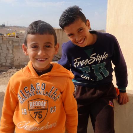 Winterhilfe in Jordanien heißt, Kinder zu unterstützen
