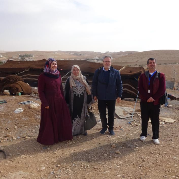 Winterhilfe in Jordanien