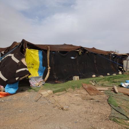 Winterhilfe in Jordanien: ein provisorisches Zuhause