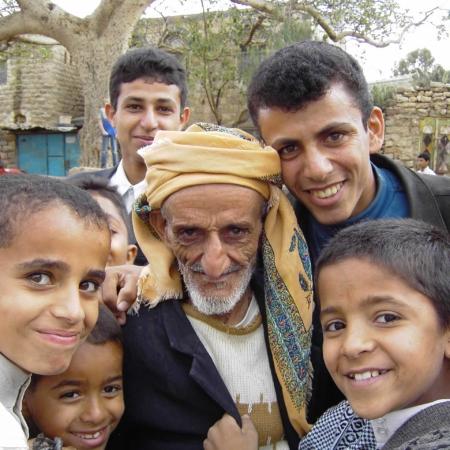 Kinder im Jemen während der Krisenzeit