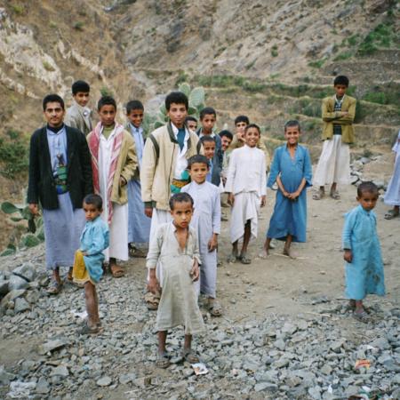 Gerade die Kinder brauchen Unterstützung während der jemenitischen Krise