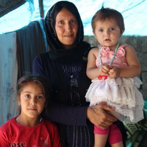 Hilfe für geflüchtete Familien in der Türkei
