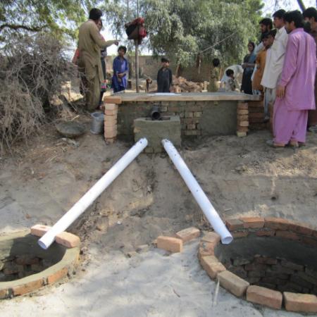 Neue Sanitäranlage in Pakistan: für mehr Hygiene im 'Land der Reinen'