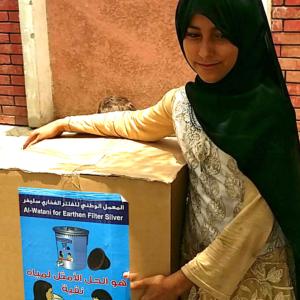 Sauberes Wasser, gesundes Leben: Wasserfilter für die Bevölkerung