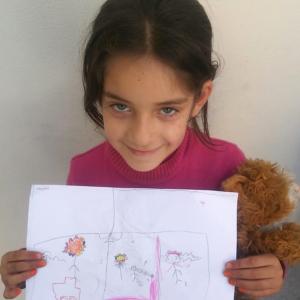 Bildung von Flüchtlingen in der Türkei - Familienzentrum mit Alphabetisierungskursen