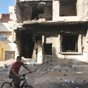 Wiederaufbau in Syrien - Wohnungen sollen wieder aufgebaut werden