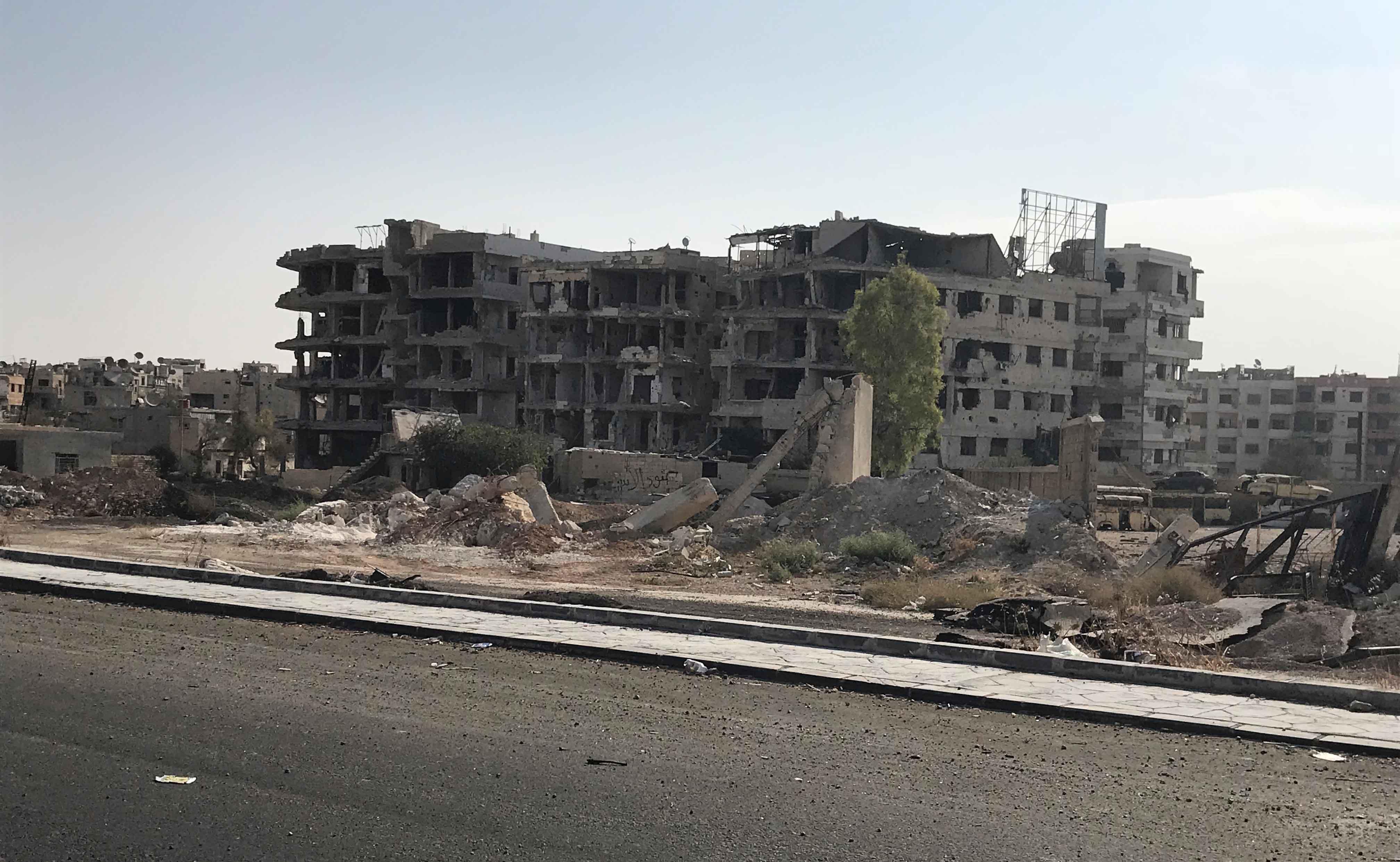 Hilfe beim Wiederaufbau in Syrien
