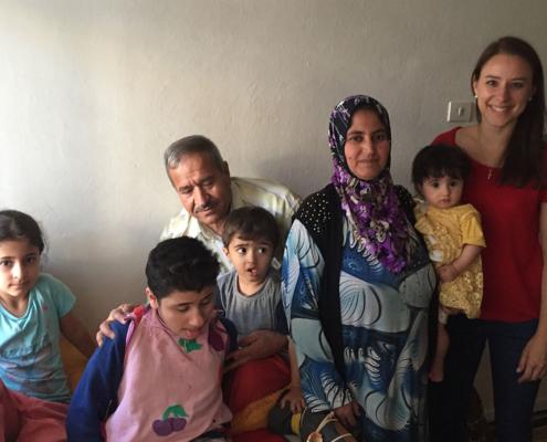 Die Familie von Zaynab ist dankbar für jede Unterstützung