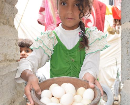 Spende gegen Hungersnot - gesunde Ernährung