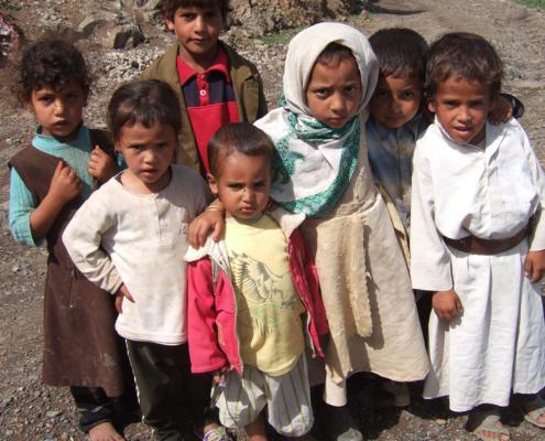 Spende gegen Hungersnot - Die Kinder brauchen unsere Hilfe