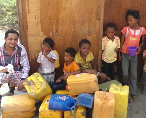 sauberes Wasser schützt vor Krankheiten