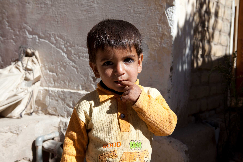 Spende gegen Hungersnot