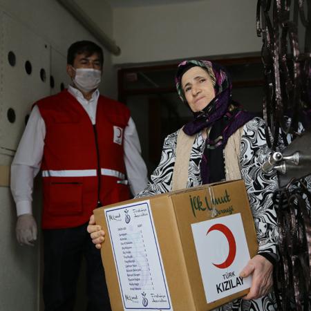 Corona Hilfe Türkei - Dankbar für Hygienepaket