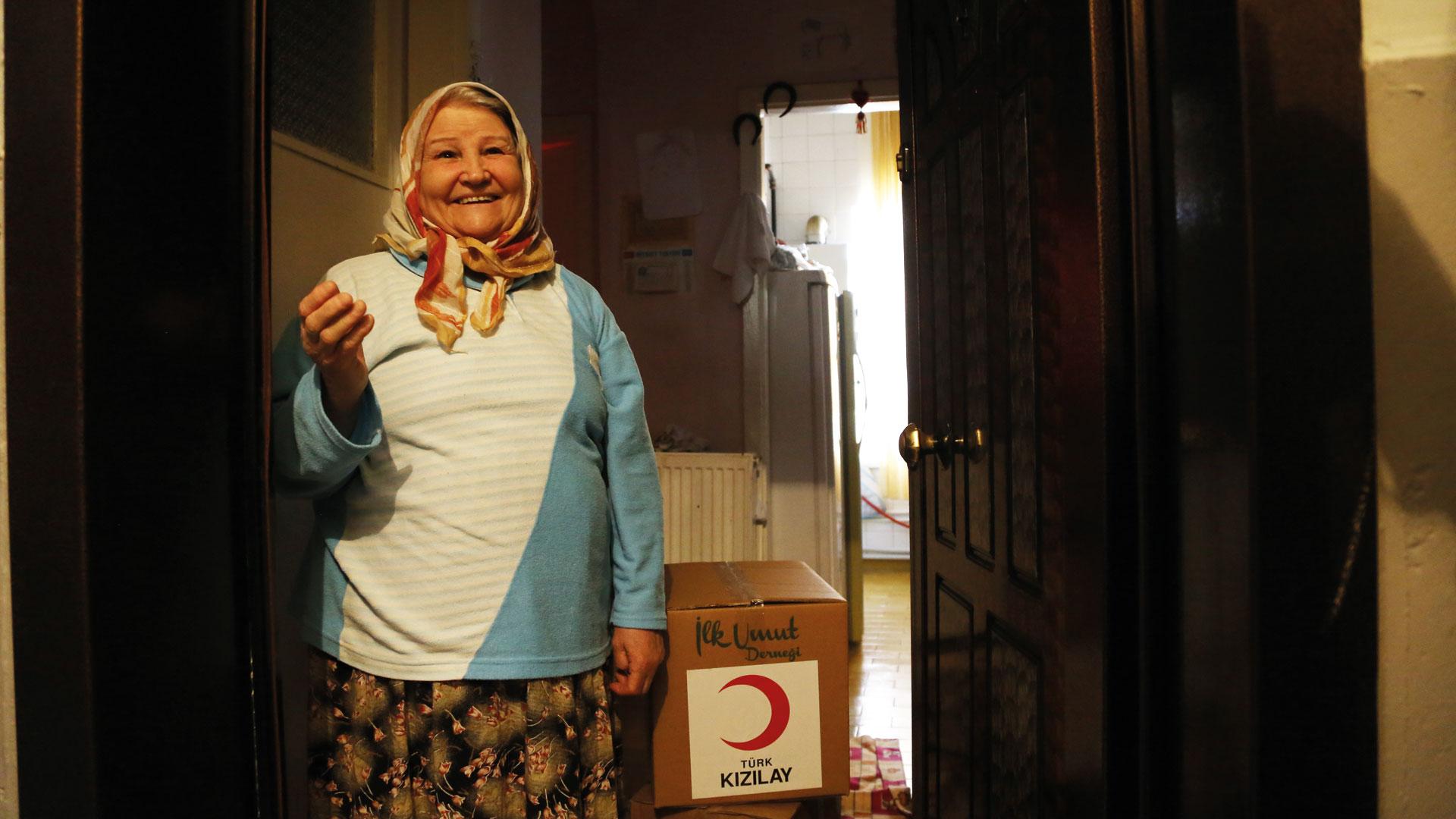 Corona Hilfe für bedürftige Familien in der Türkei