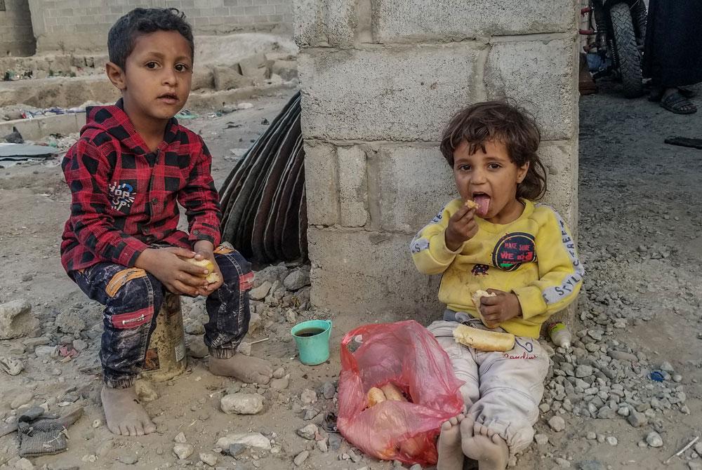 Humanitäre Krise im Jemen - Kinder sind am schlimmsten betroffen