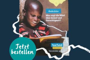 Andachtsheft der christlichen Hilfsorganisation Tearfund Deutschland