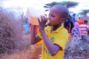 Dürre Ostafrika - sauberes Wasser für die menschen