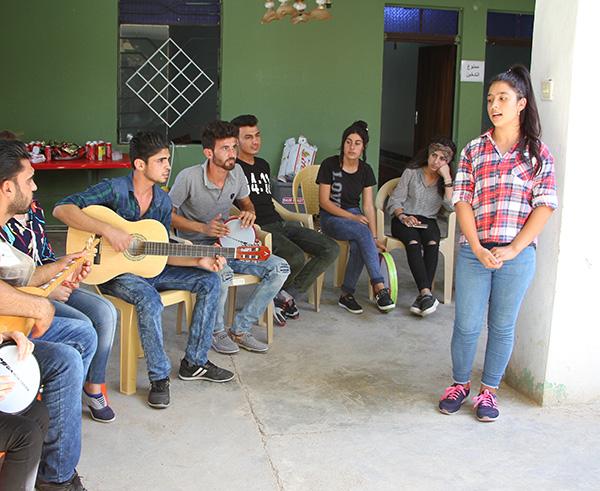 Friedensprojekte im Irak - Begegnung durch Musik