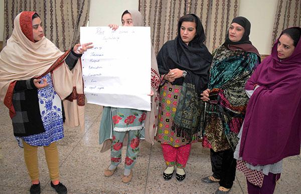 Frieden in Pakistan - Frauen stärken