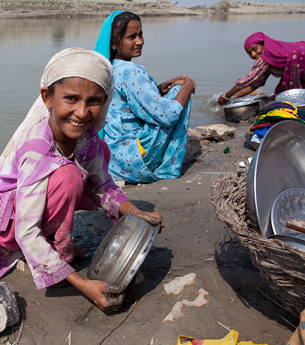 Frieden in Pakistan - Kindern helfen
