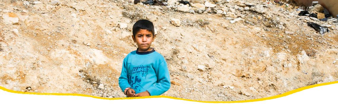 Hilfe für Flüchtlinge in Jordanien
