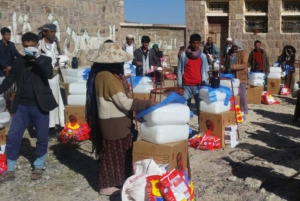 Jemen - Hilfe in der Not durch Lebensmittelverteilung