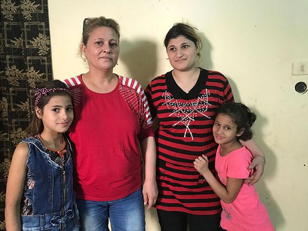 Wiederaufbau in Syrien - Familie hält zusammen