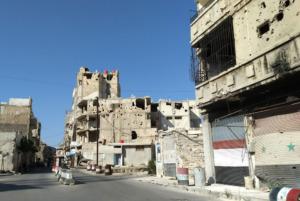 Wiederaufbau in Syrien - Arbeit mit Gefangene