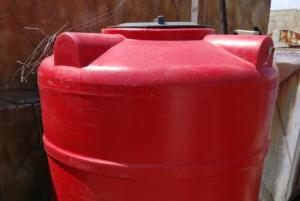 Wiederaufbau in Syrien - Wassertank