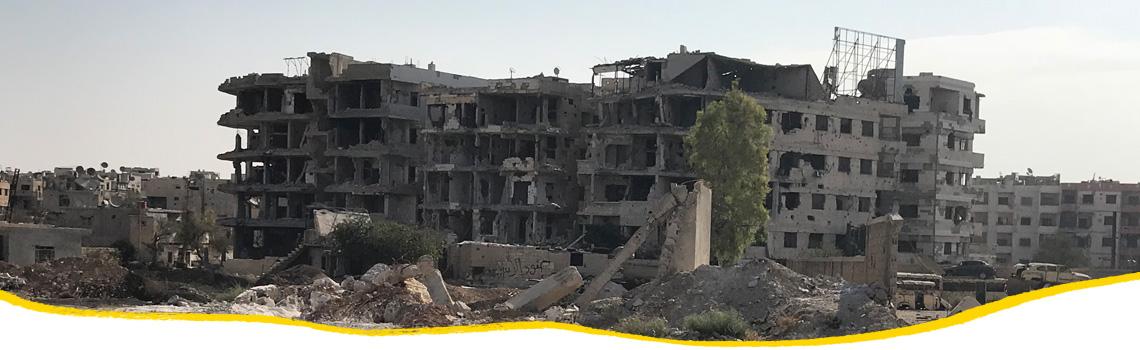 Wiederaufbau in Syrien - Jede Spende hilft